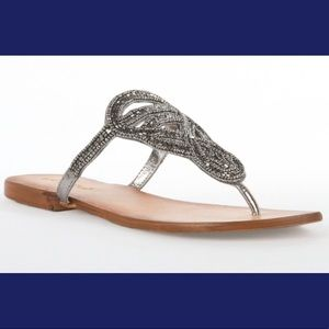 Charm City Crystal studded strapping summer sandal